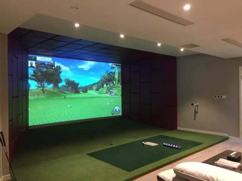 Gsk 5000bg Bravo Golf Simulator System Golfsimulator